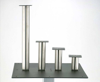 "2"" Round Stainless Steel Leg"