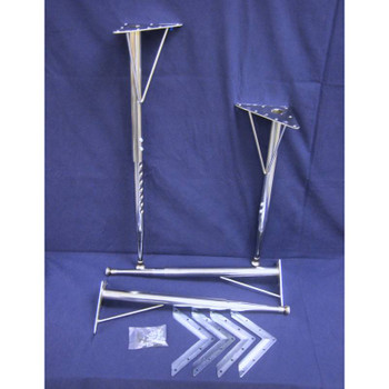 Adjustable Height Tapered Leg