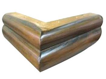 "3"" Triangle Wood Leg"