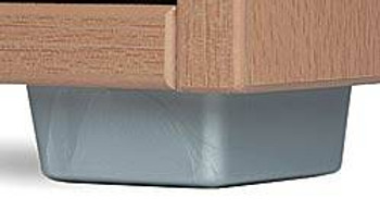 "1"" L-Shaped Furniture Foot"