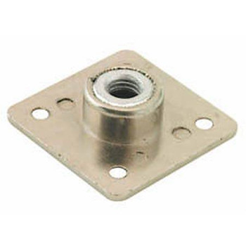 M10 threaded mounting plate for attaching hardware