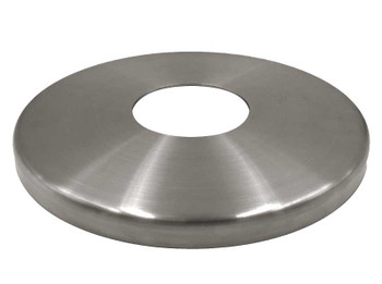 "Stainless Steel Floor Cover Plate for 3"" columns"