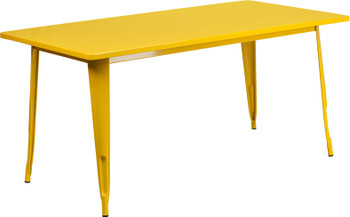 Rectangular Metal Indoor-Outdoor Table