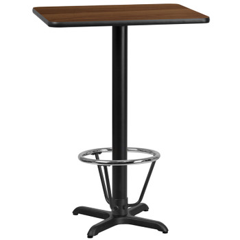Rectangular Laminate Table Top with X-Shaped Table Bases