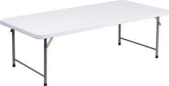 Rectangular Kid's Plastic Folding Table
