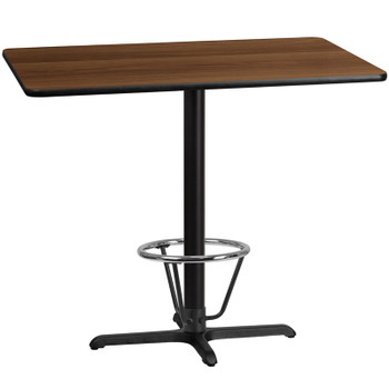 Rectangular Laminate Table Top with X-Shaped Table Base