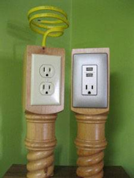 Routing for Integrated Electrical Outlet