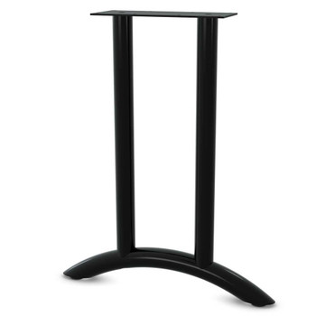 Arched Dual Column T-Shaped Base