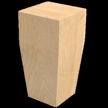 "6"" Square Craftsman Bun Foot"