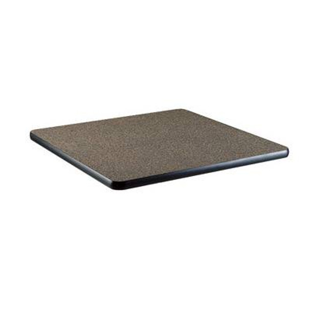 Square table top