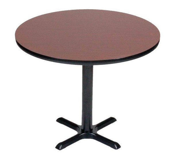 Round X-Base Table