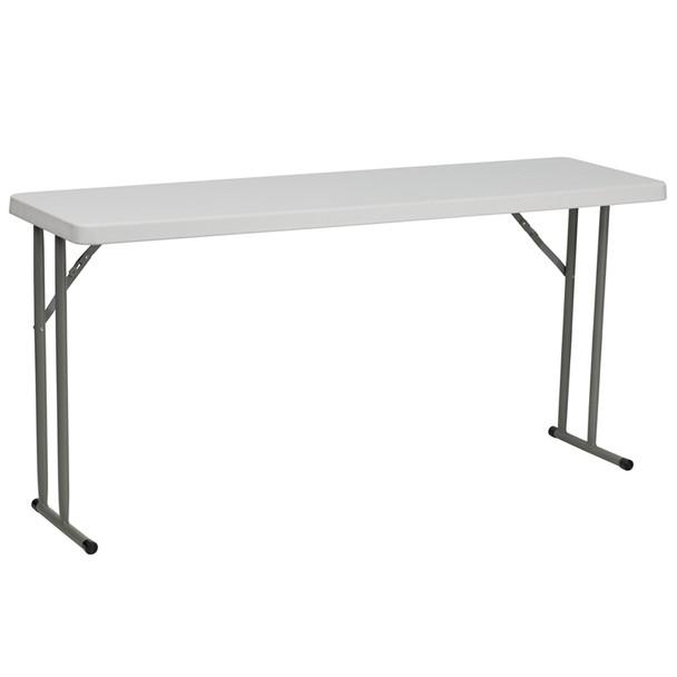 Rectangular Plastic Folding Training Table