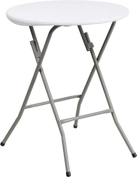 Small Round Plastic Folding Table