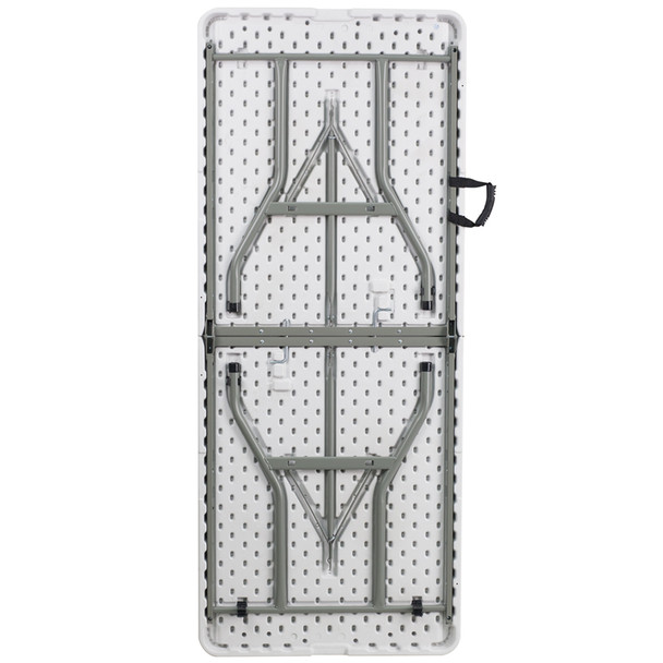 Rectangular Bi-Fold Plastic Folding Table
