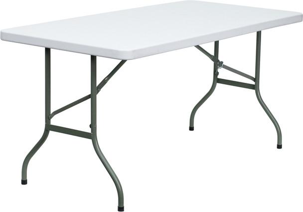 Small Rectangular Plastic Folding Table