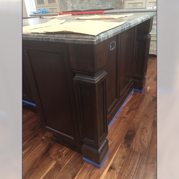 "35-1/2"" Madeline Kitchen Island Post Leg"