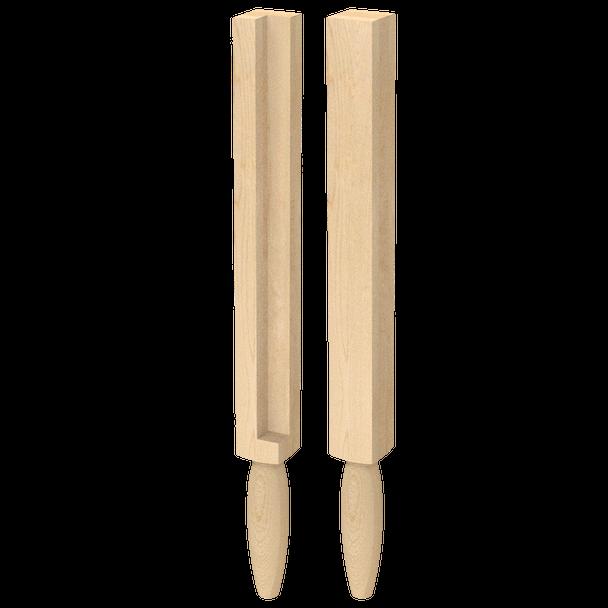 "34-1/2"" Jacobsen Post Leg - Notched - BW280210-Notched"