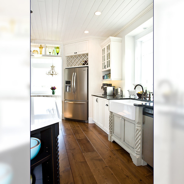 "35-1/4"" Roman Classic Roped Kitchen Table Leg - BW230230"