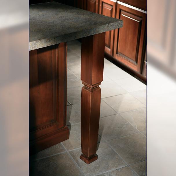 "35-1/4"" Estate Square Kitchen Table Leg"