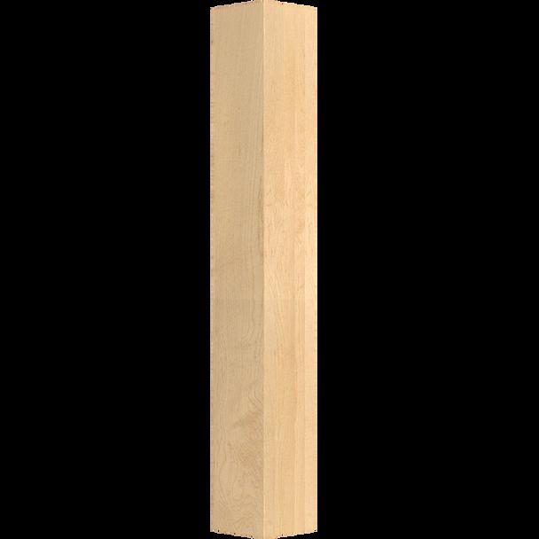 """35-1/4"""" x 5"""" Square Wood Post Leg"""
