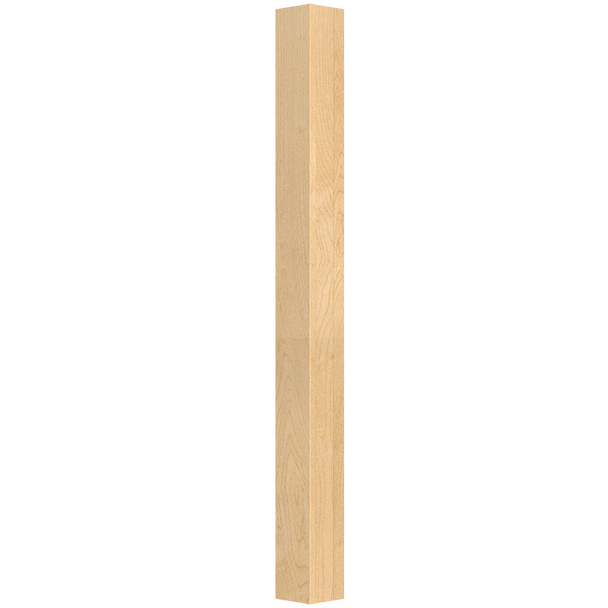 """42-1/4"""" x 3"""" Square Wood Table Leg"""