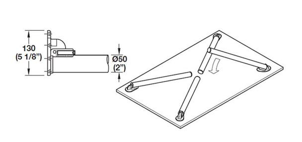 Click Folding Leg - Single