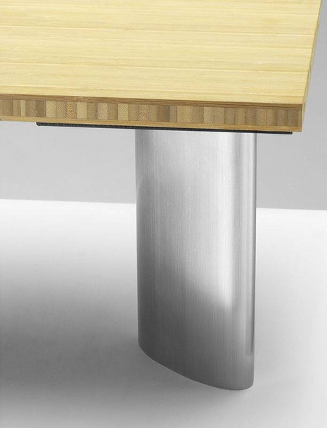 Ellipse Stainless Steel Table Leg