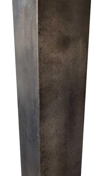 Vintage Industrial Angled-Iron Leg
