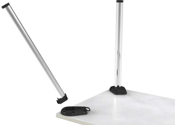 Break-Away Removable System Table Leg
