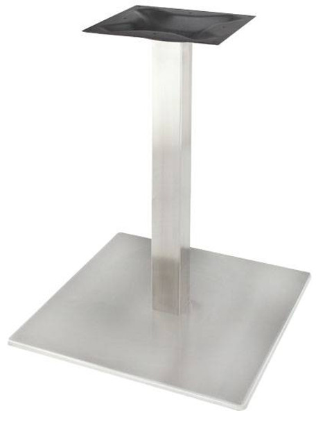 Stainless Steel Square Base