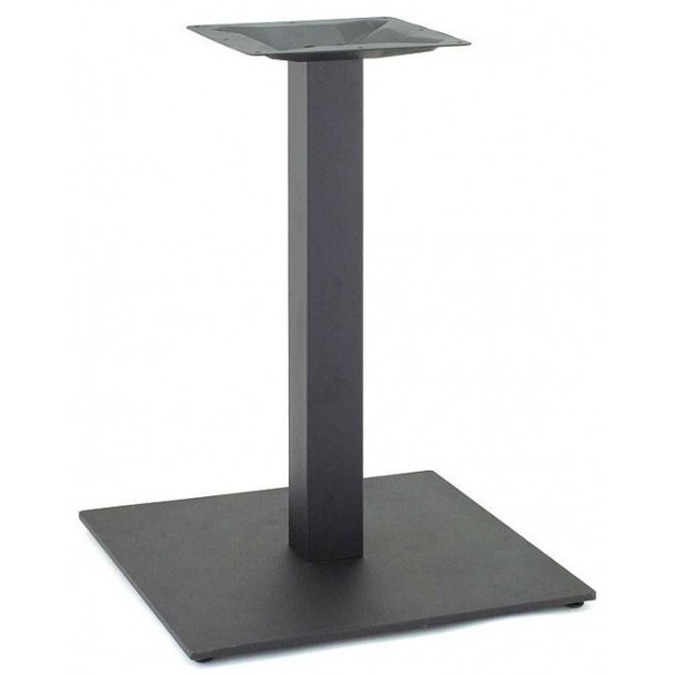 Powdercoated Square Black Table Base