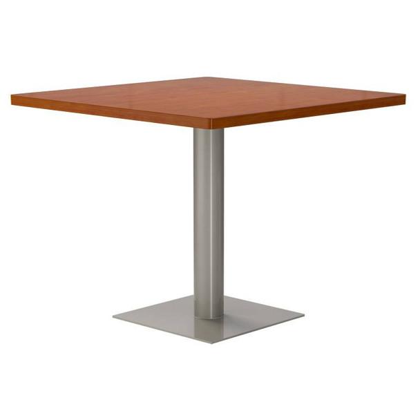 Low Profile Square Pedestal Table Base