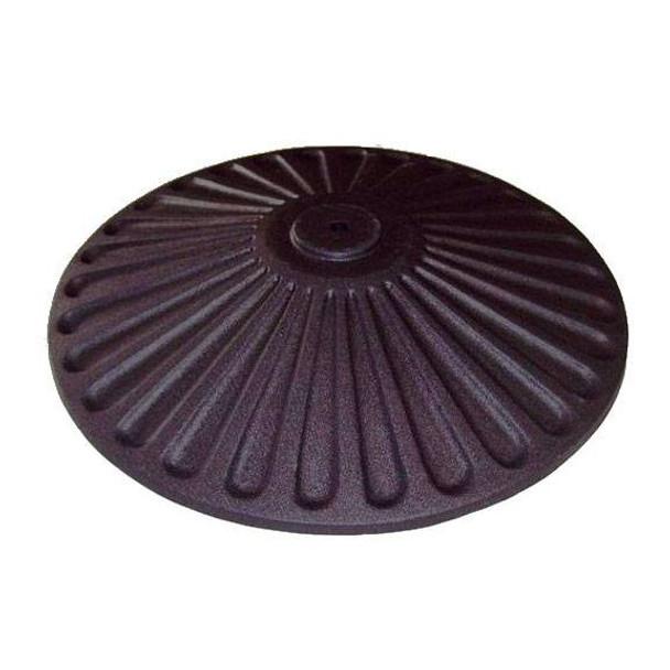 Sole Cast Iron Disc Base