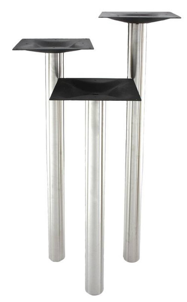 Core Drilled Stainless Steel Base