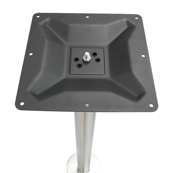 Serri Stainless Bolt Down Table Base