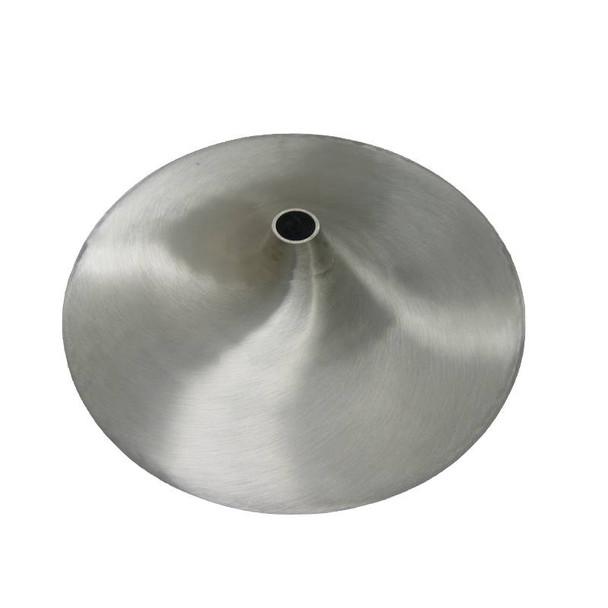 """23"""" Diameter Aluminum Trumpet Base"""