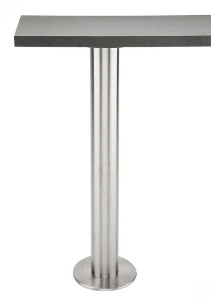 Bolt Down Stainless Steel Table Base