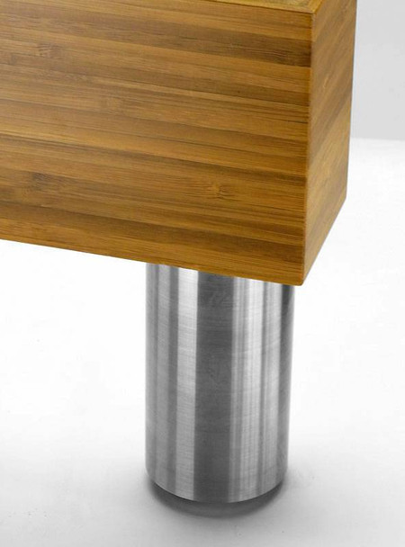 "2"" Round Stainless Steel Leg"