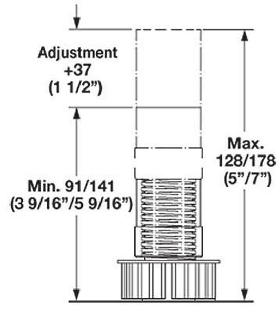 Base Cabinet Leveler - F3754