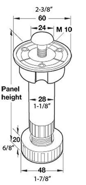 Base Cabinet Leveler - F3745