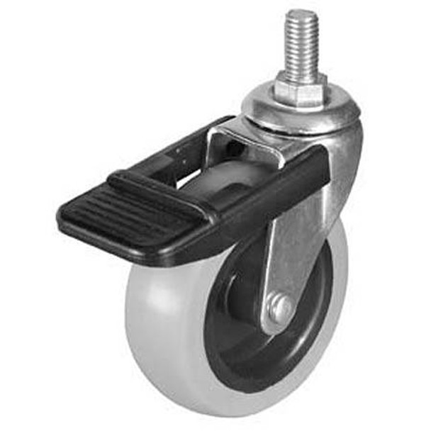 M10 Swiveling Caster with Brake