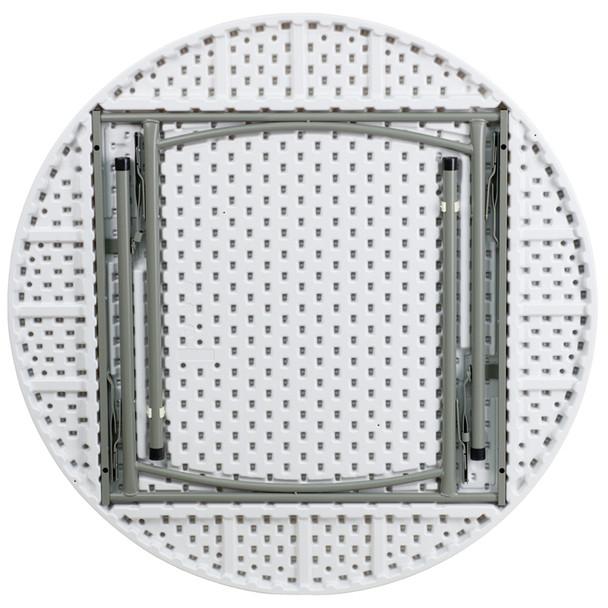 Round Plastic Folding Table