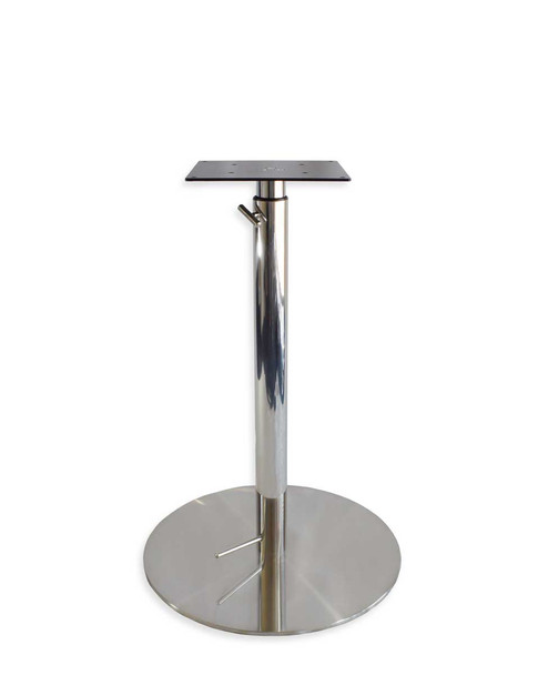 Levante Height Adjustable Stainless Steel Base