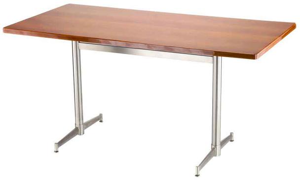 Turin Stainless Steel Cross-Beam Table Base