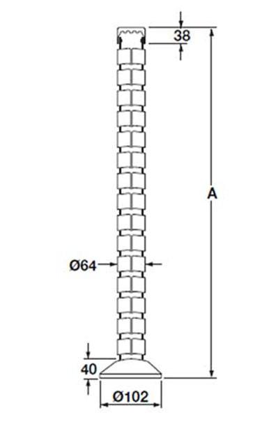Vertebrae Wire Management System - 63117302