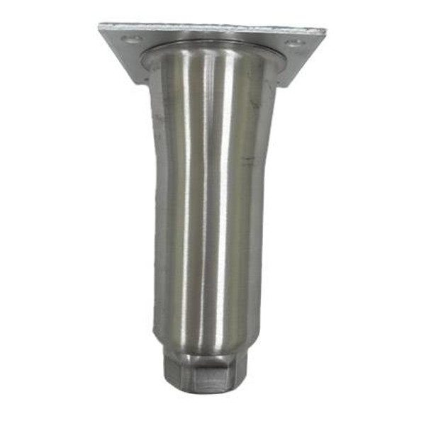 """6"""" Stainless Steel Tapered Leg"""