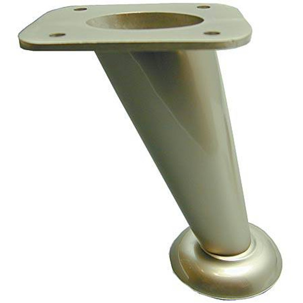 "4"" Satin Chrome Furniture Leg"