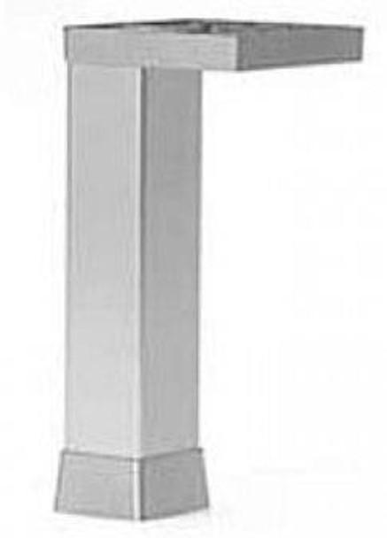 "4-3/4"" Tall Square Designer Furniture Leg"