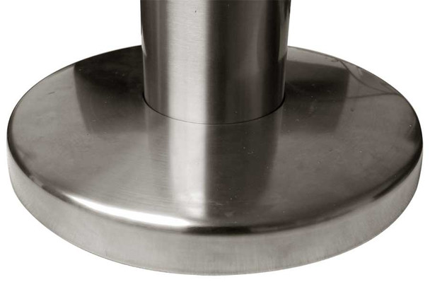 """Stainless Steel Floor Cover Plate for 3"""" columns"""