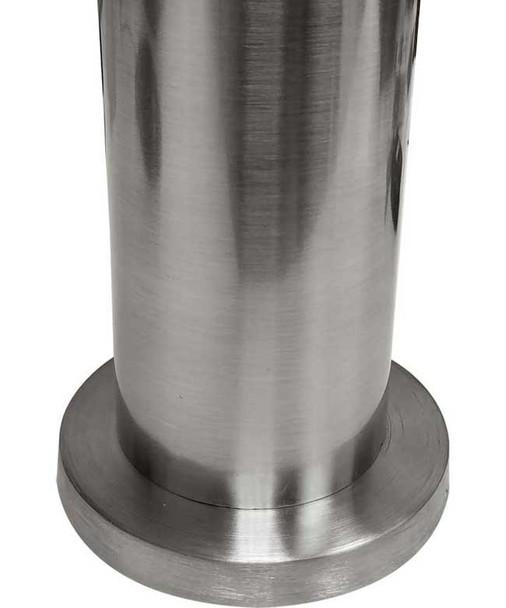 """28"""" Stainless Steel Floor Mount Bolt Leg"""